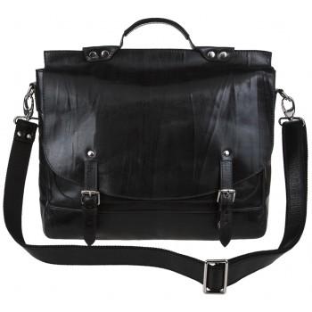 Кожаный портфель Alexander-TS PF 0001 black