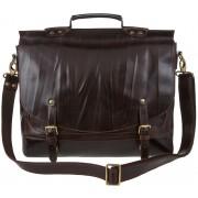 Кожаный портфель Alexander-TS PF 0001 brown latun