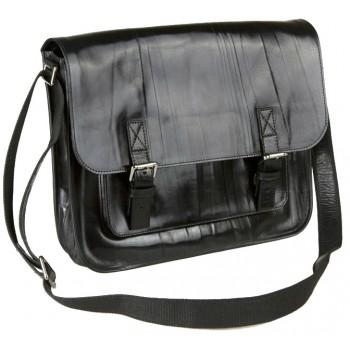 Кожаный портфель Alexander-TS PF0005 black