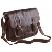Кожаный портфель Alexander-TS PF0005 brown