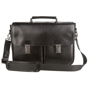 Кожаный портфель Alexander-TS PF0014/2 black