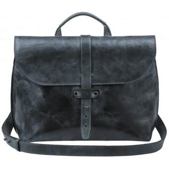 Кожаный портфель Alexander-TS SW11 black