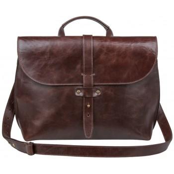 Кожаный портфель Alexander-TS SW11 brown