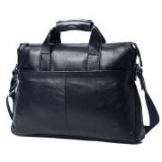 Кожаная сумка Bostanten B10203 blue