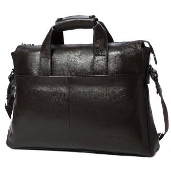 Кожаная сумка Bostanten B10203 brown