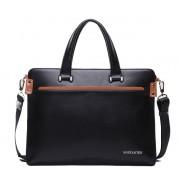 Кожаная сумка Bostanten B10743 black