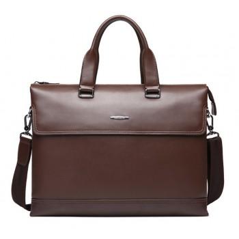 Кожаная сумка Bostanten B10783 brown