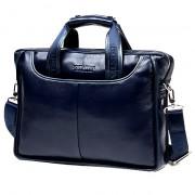 """Деловая сумка Bostanten B10023-13 blue под ноутбук 13"""""""