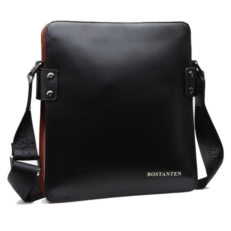 c67a85db086c CarryBag - Мужская сумка через плечо из натуральной кожи Bostanten ...