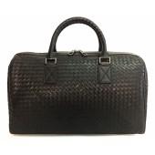 Кожаная дорожная сумка BV 9953 black
