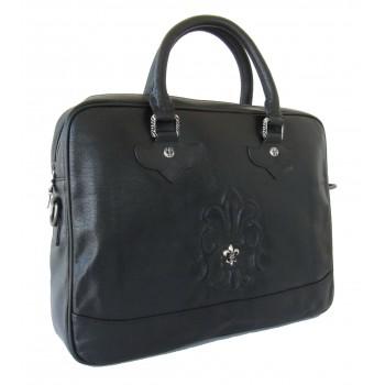 Кожаная сумка CH 68620 black