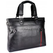 Кожаная сумка GA 0886-4 black