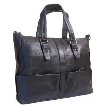 Кожаная сумка GA 619-171 black