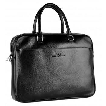 Кожаная сумка GA 8851-3 black
