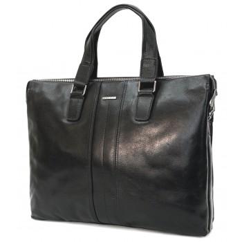 Кожаная сумка HB 313-5 black