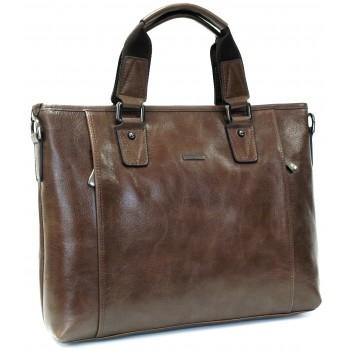 Кожаная сумка HB 8438-1 brown