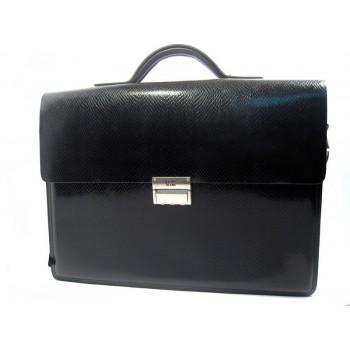 Кожаный портфель MB 1090-6 black