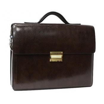 Кожаный портфель MB 1090-5 brown