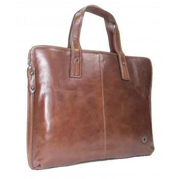 Кожаная сумка MB 720-1 brown