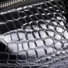 """Деловая сумка """"под крокодила"""" MB 7235-1 black"""