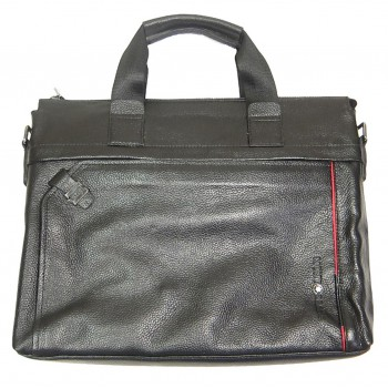Кожаная сумка MB 7702-4 black