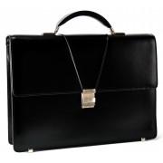 Кожаный портфель MB 9173 black