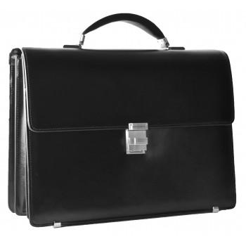 Кожаный портфель MB 9174 black