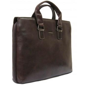 Кожаная сумка MB 9487 brown