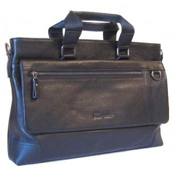 Кожаная сумка SF 619-305 black