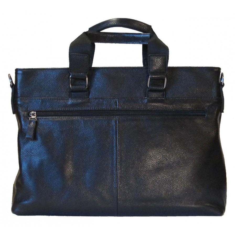 Кожаная мужская сумка Salvatore Ferragamo 1748