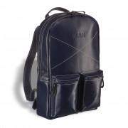 Кожаный рюкзак BRIALDI Bismark navi
