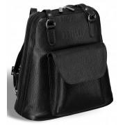 Женская сумка-рюкзак BRIALDI Beatrice relief black