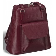 Женская сумка-рюкзак BRIALDI Beatrice relief cherry