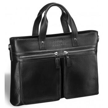 Деловая сумка для документов BRIALDI Bosa (Боза) black
