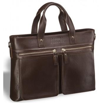 Деловая сумка для документов BRIALDI Bosa (Боза) brown