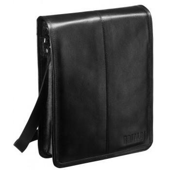 Мужская сумка через плечо BRIALDI Boston (Бостон) black