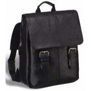 Кожаный рюкзак BRIALDI Broome relief black