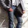 Деловая сумка через плечо BRIALDI Cambridge (Кембридж) black