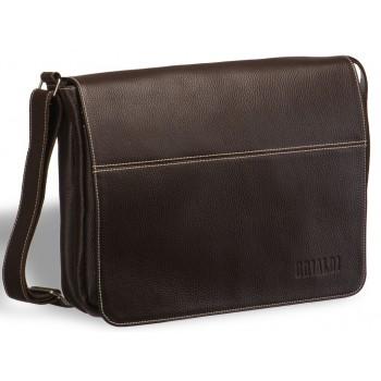 Деловая сумка через плечо BRIALDI Chieti brown