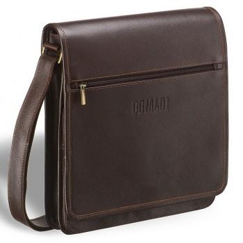 Кожаная сумка через плечо BRIALDI Dallas (Даллас) brown
