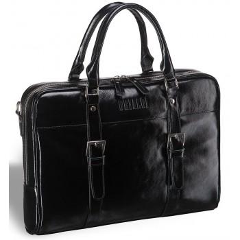 Деловая сумка для документов Darwin (Дарвин) shiny black
