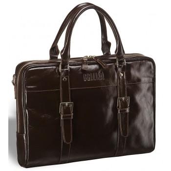 Деловая сумка для документов Darwin (Дарвин) shiny brown