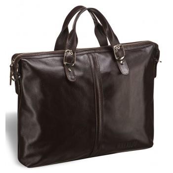 Модная мужская сумка BRIALDI Denver brown