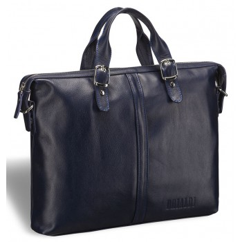 Модная мужская сумка BRIALDI Denver navy