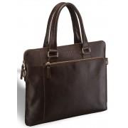 Деловая сумка BRIALDI Leicester brown