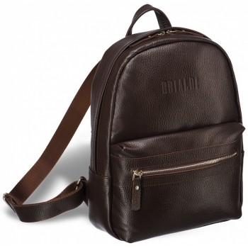 Женский рюкзак BRIALDI Leonora relief brown