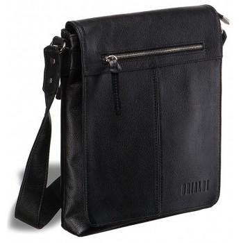 Мужская сумка через плечо BRIALDI Livorno relief black