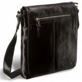 Мужская сумка через плечо BRIALDI Livorno shiny black