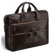 Вместительная деловая сумка BRIALDI Manchester brown
