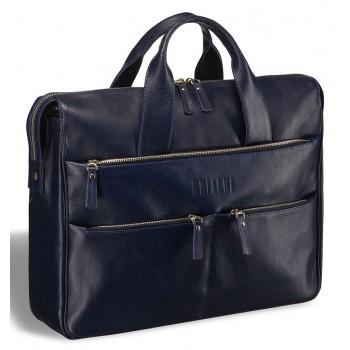 Вместительная деловая сумка BRIALDI Manchester navy